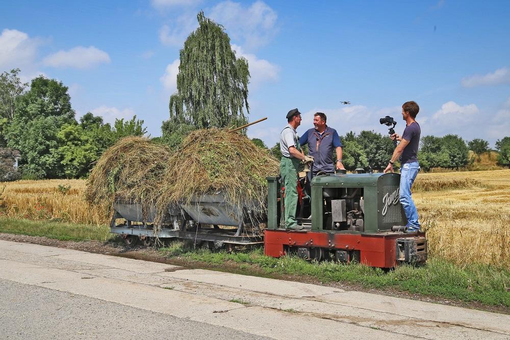 2021 07 10 Wandern mit Böttcher bei der Feldbahn in Schlanstedt Steimecke Jürgenkl